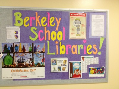 library services bulletin board 2014-15