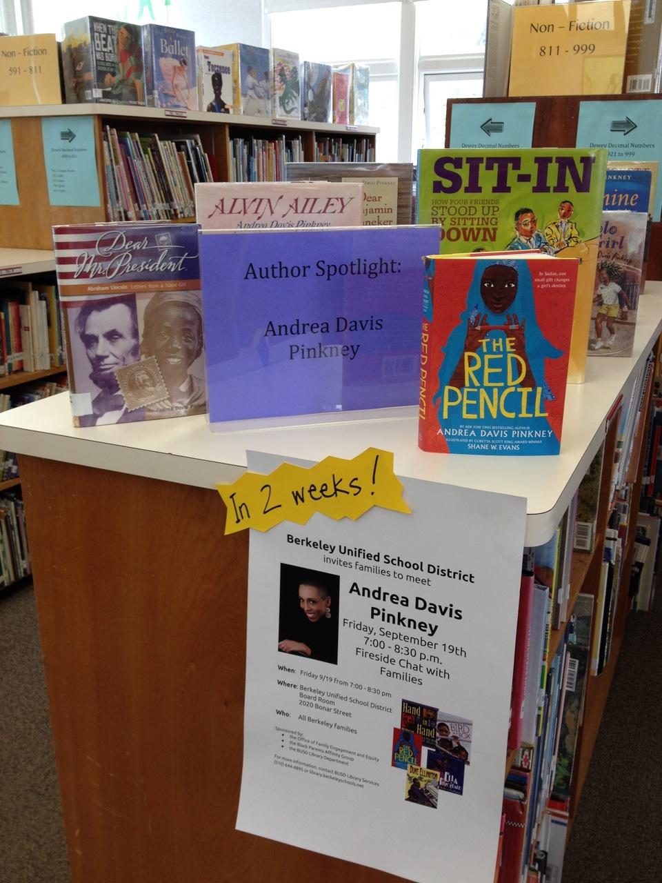 Author Spotlight Pinkney